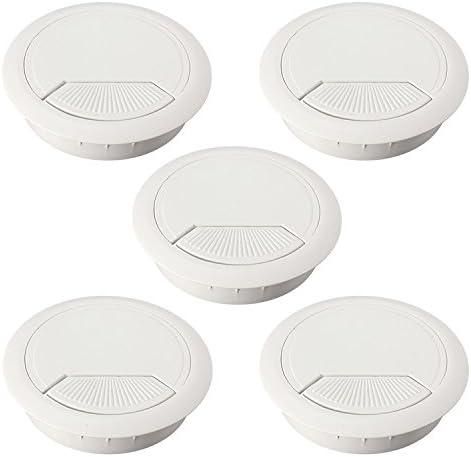 5 pieza pasacables de plástico (60 mm de diámetro para mesa ...
