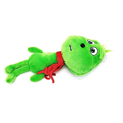 New Style How The Grinch Stole Movie Young Grinch Beans Santa Suit Christmas Stuffed Plush Toy Doll Kids Christmas Gifts