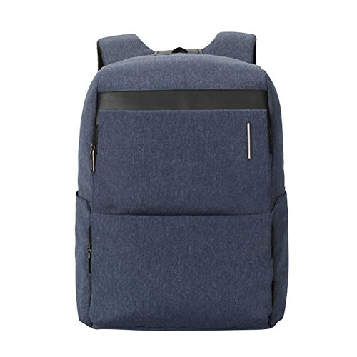 HomeMiYN Laptop Rucksack Business Computer Rucksack Leichte Reise und Wasserdichte Schultertasche Dunkel Blau By1xyqd