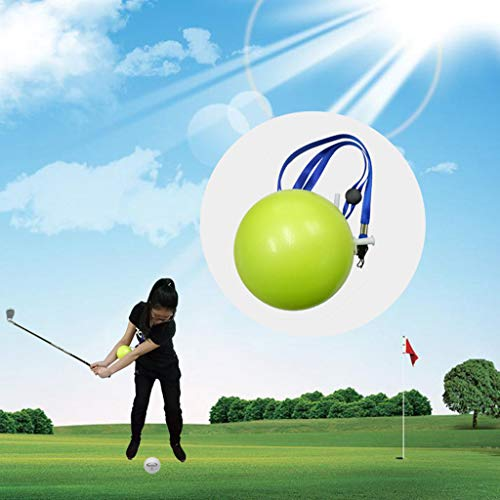 - Shan_s New Golf Intelligent Inflatable Impact Ball,Golf Swing Trainer Aid Assist Posture Correction Training Supplies for Strength and Tempo Trainin