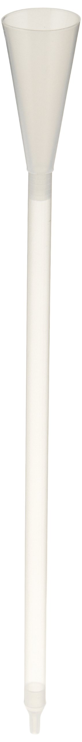 Kimble 420160-0000 Polypropylene Funnel to Accommodate 5mm NMR Tubes, Unassembled (Case of 100)