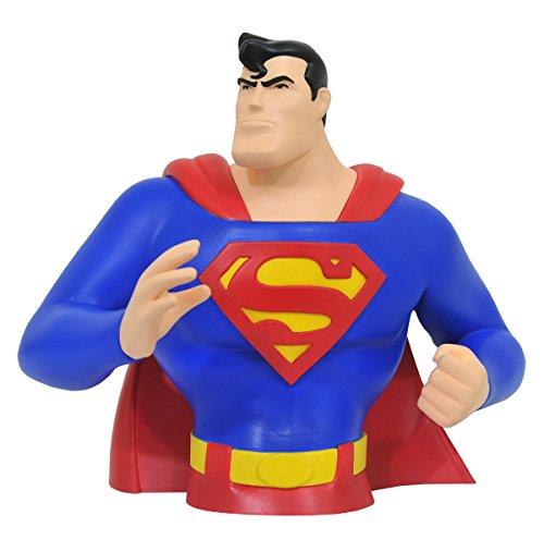 - DIAMOND SELECT TOYS Superman The Animated Series: Superman Vinyl Bust Bank