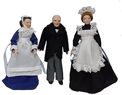 Dollhouse Miniature 1:12 Scale Victorian Dollhouse Maid