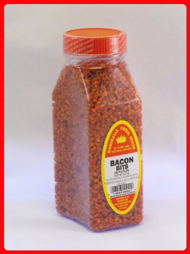 Soy Bacon Bits - Marshalls Creek Spices Bacon Bits, 5 Ounce