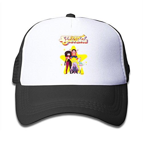 Baboy Steven Stars Boy's Trucker Hat Sports UV Cut Black Size One - Youtube Ray Bans
