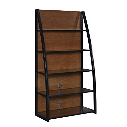Stationary Media Cabinet - Home Styles 5080-13 Aero Media Tower