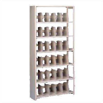 Tennsco Starter Imperial Shelf Unit Imperial Shelf Filing (Starter Unit) Dimensions (W x D x H): 36