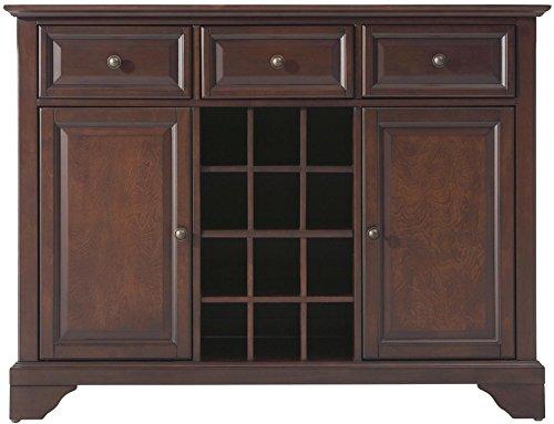 Crosley Furniture LaFayette Wine Buffet / Sideboard - Vintage Mahogany (Mahogany Buffet Sideboard)