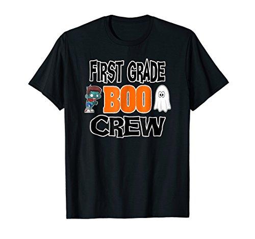 Halloween 2018 Shirt First Grade Boo Crew School T-Shirt