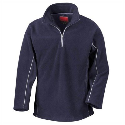 Result - Tech3 1/4 Zip Fleecepullover Sport M,Navy/Navy