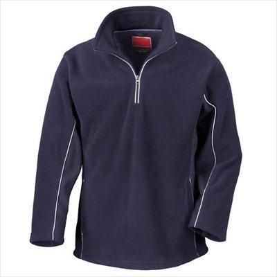 Result - Tech3 1/4 Zip Fleecepullover Sport XL,Navy/Navy