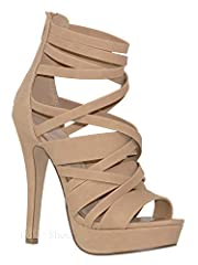 MVE Shoes bring you these classy womens high heels with a comfortable heeland are an easy choice for any occasion.Sleek heels provide lenghth and beauty to your look