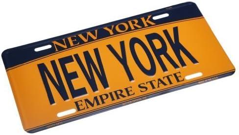 Plato de matrícula de Nueva York NY para coche, de metal, con ...
