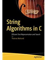 String Algorithms in C: Efficient Text Representation and Search