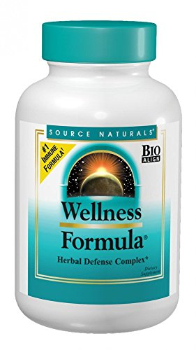 Source Naturals Wellness Formula Bio-Aligned Supplement Herbal Defense Complex Immune System Support & Immunity Booster Wholefood With Vitamins & Antioxidants – 120 Capsules