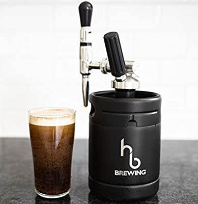 Nitro Cold Brew Coffee Maker - 2 Unit Combo Holiday Package (1 Black, 1 Silver) by HB Brewing