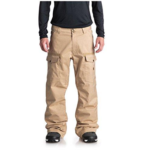 DC Shoes Mens Shoes Code - Snow Pants - Men - S - Brown Incense S