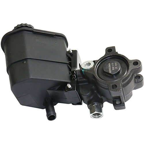 Power Steering Pump compatible with Nissan Murano 2003-2007 w//Pulley Bracket and Oil Pipe