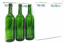 Green Bordeaux Wine Bottles-2 Cases
