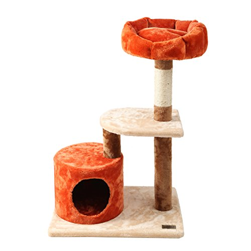 finnkare-34h-cat-tree-sisal-scratcher-play-house-condo-furniture-beige