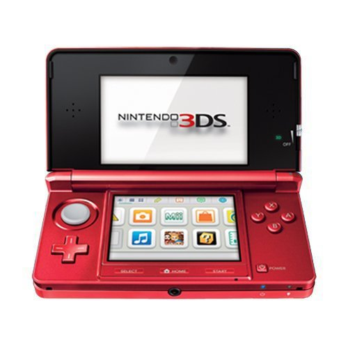Nintendo 3DS - Flame Red (Nintendo 3ds Xl Bundle Best Price)