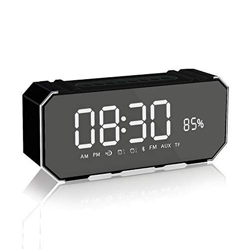 xingganglengyin Wireless Bluetooth Speaker New Mini Portable Alarm Clock Mini Speaker Computer Car Subwoofer by xingganglengyin (Image #2)
