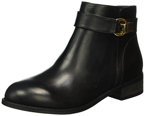 Buffalo London 413-6923 L Silk Leather, Zapatillas de Estar por Casa para Mujer Negro - Schwarz (BLACK851)