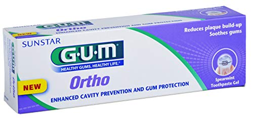 Butler G-U-M Ortho Gel Toothpaste for Orthodontics 75 Ml