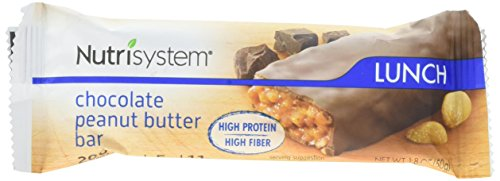 Nutrisystem NutriCRUSH Chocolate Peanut Butter Bars, 30 ct