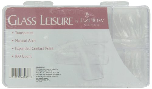 EZ Flow Leisure Tips, Glass, 100 ()