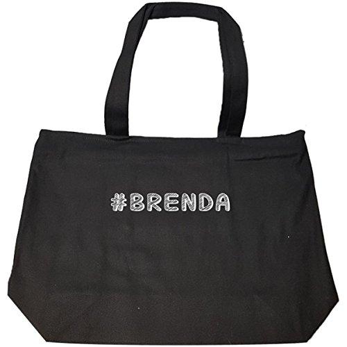 Hashtag Brenda - Tote Bag With (Brenda Zip Bag)