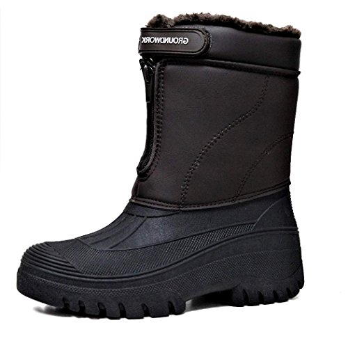 Womens Muck Outdoor Yard Garden Winter Boots Brown UmDbHVtENK