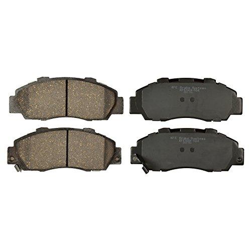 KFE Ultra Quiet Advanced KFE503-104 Premium Ceramic FRONT Brake Pad Set ()