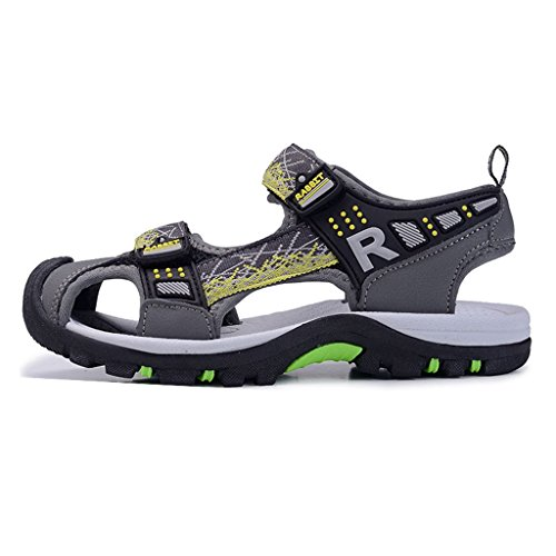c51b1b66e Boys   Girls Outdoor Summer Athletic Closed-Toe Comfort Beach Sports Water  Friendly Sandals(