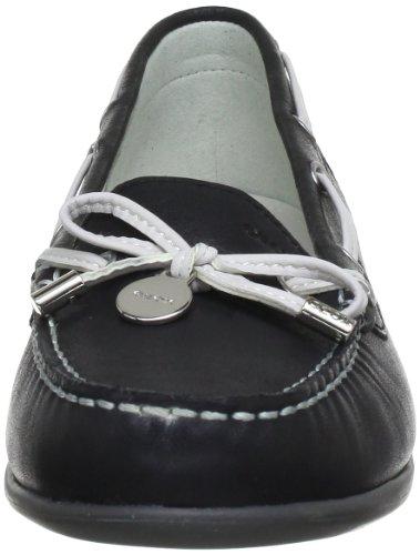 Geox Textil D YUKI A D3255A00043C9999 - Mocasines para mujer Negro