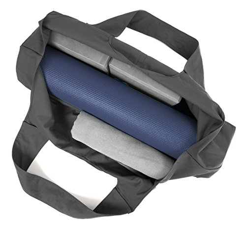 Yogiii Large Yoga Mat Bag | The Original YogiiiTotePRO | Large Yoga Mat Tote Sling Carrier with Side Pocket | Fits Most Size Mats