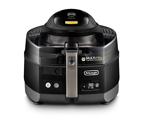 De'Longhi FH1363 MultiFry Extra, air fryer and Multi Cooker, Black (Best Oil For Actifry)