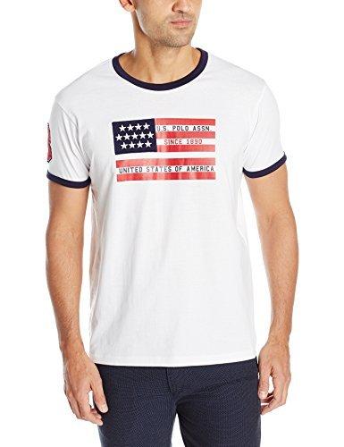 U.S. Polo Assn. - Camiseta de cuello redondo para caballero con ...