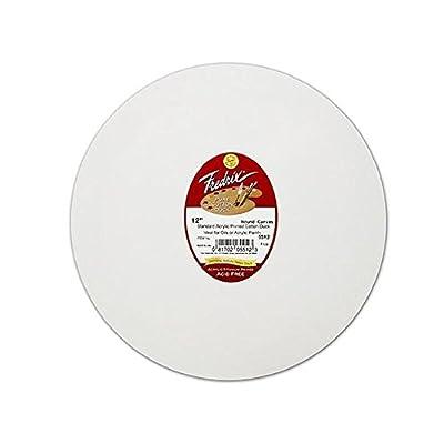 Fredrix Round Red Label Canvas