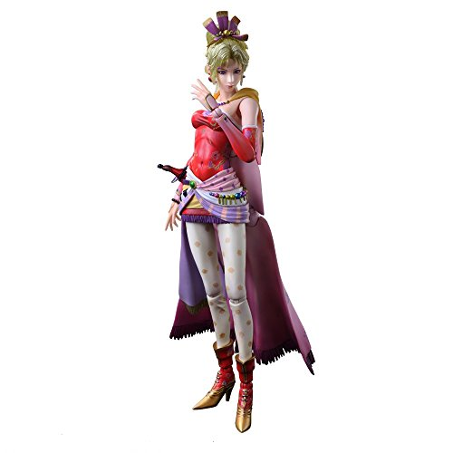 DISSIDIA FINAL FANTASY PLAY ARTS개 T 나 ・블랑 포드 PVC제 도장필 가동 피규어