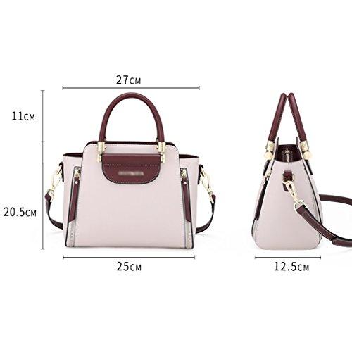 Wild JIUTE Handbag Messenger Capacity Ms High Bag A Messenger B Shoulder Color Shoulder Fashion 8x8Yqpr