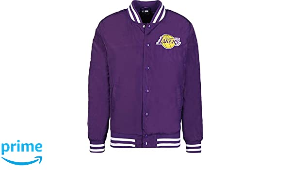 A NEW ERA Era Los Angeles Lakers Chaqueta Bomber: Amazon.es ...