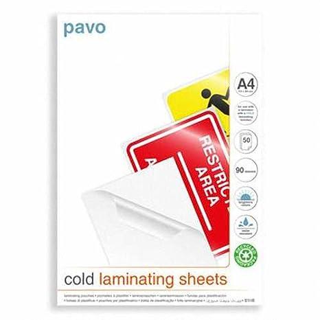 Kaltlaminierfolie Sparpack Kalt-Laminiertaschen für 20 Blätter DIN A4