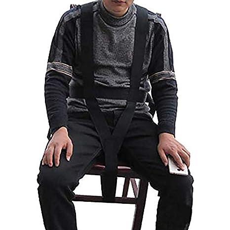 Cinturón de seguridad para silla de ruedas, correa de seguridad, arnés de seguridad para silla de ruedas con hebillas ajustables HBZ09-D: Amazon.es: Salud y ...