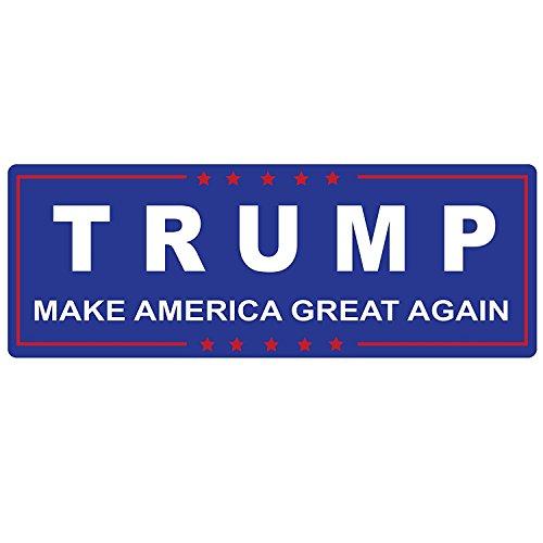 Gadsen Flags in USA (2 Pack) 2 Trump Bumper Stickers - Make America Great Conservative Republican President Donald Trump Bumper Stickers for Cars Trump- Sticker (2 Pack Set)