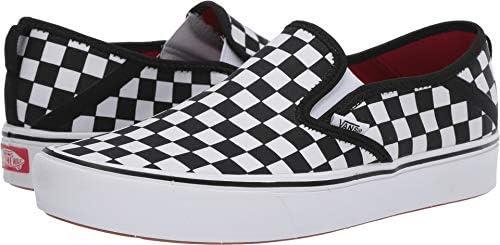 dobrze znany zamówienie buty do biegania Vans Comfy Cush Slip-On SF, Men's Shoes, Black (Checkerboard ...