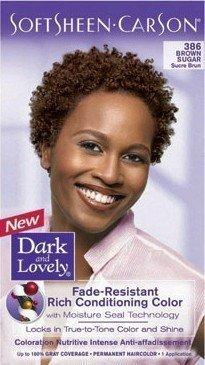 DARK AND LOVELY HAIR DYE COLOR 386 BROWN SUGAR by Dark & Lovely