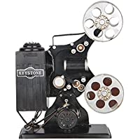 niceEshop(TM) Decorative Vintage Film Movie Projector Mold Desk Decorations (Old Bronze)