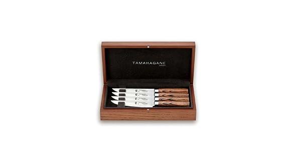 Amazon.com: Tamahagane San – 4 pc juego de cuchillos de ...