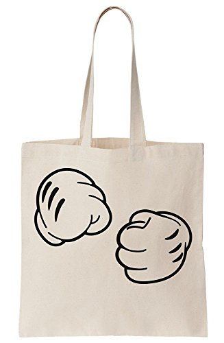 Gloves Want Cartoonish Bag Fight You Do To Tote Canvas Showing Fists 7XqfdX